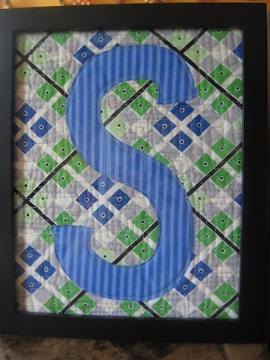 Applique today applique letters applique letters remember my good friend shannon who just made her first quilt ever well she had her baby shower on saturday it was a beautiful day so it spiritdancerdesigns Images