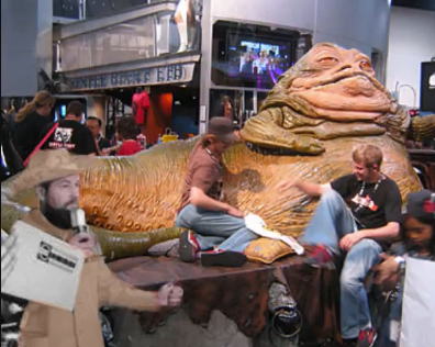 Mike Check at a Star Wars Convention