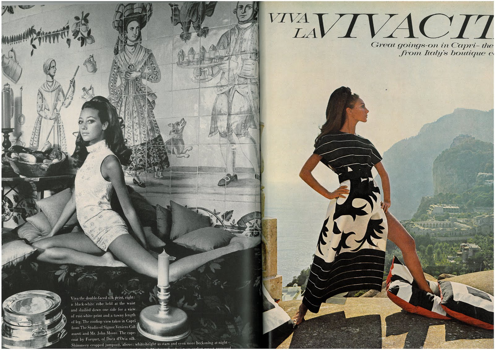 youthquakers st  marisa berenson pilar crespi and sue murray by de rosnay