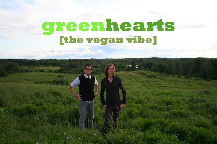 Green Hearts [the vegan vibe]
