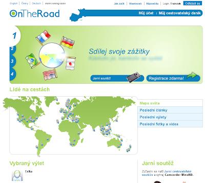 OnTheRoad - cestovatelský deník on-line