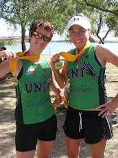 After Winning the Prairieman Half Iron Women's Relay