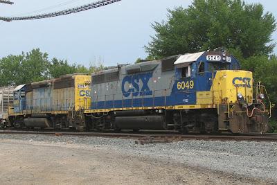 Current CSX H-794/H-793 Local/Yard Power