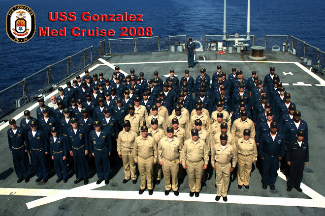 The best crew in the Navy.