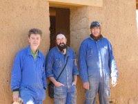 Construyendo una casa de cob