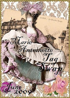 Marie Antionette Tag Swap