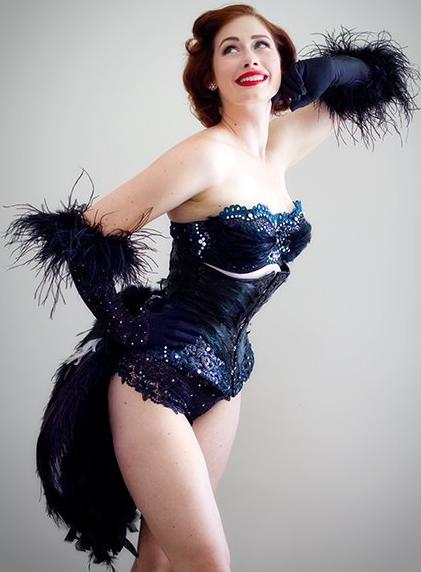 In Your Skin Burlesque Is The Accidental Stripper Leda Petit