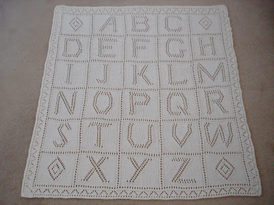 Knitting Pattern Alphabet Blanket : DEBBIE BLISS ALPHABET BABY BLANKET PATTERN Sewing ...
