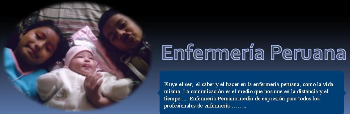 ENFERMERIA  PERUANA
