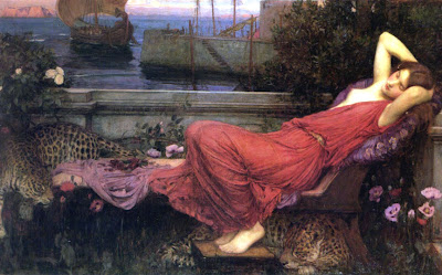 Poor Ariadne. Who will console her  We know that the beautiful and  dangerous god of wine will soon come to her. In fact 9b9709c8f