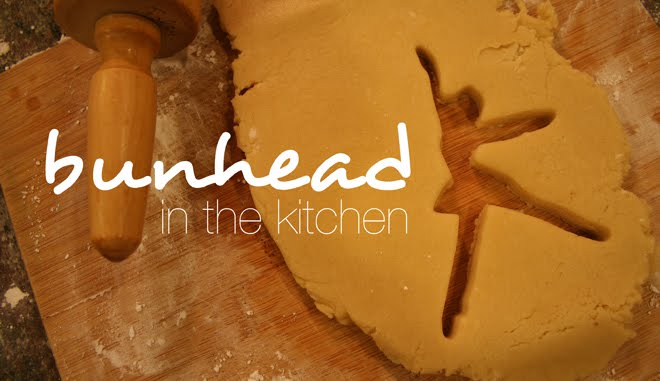 Bunhead in the Kitchen