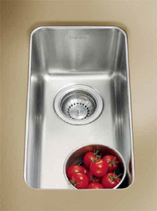 Franke KBX-110-8 Kubus Undermount Stainless Steel Kitchen Sink 8 x 16 x 6