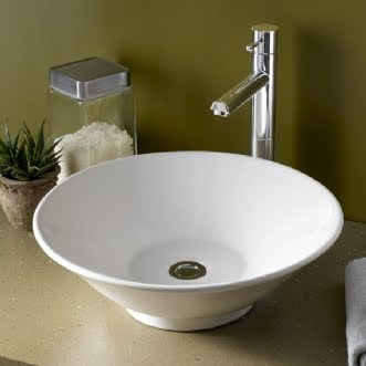 American Standard 0514.000.020 Celerity White Above Counter Vessel Bathroom Sink