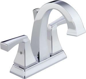 Delta 2551 Dryden Two Handle Centerset Lavatory Faucet