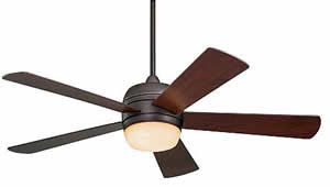 Emerson Fans CF930ORB Atomical Ceiling Fan Oil Rubbed Bronze With Mahogany Blades