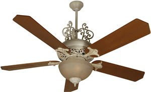 Craftmade OMI52AWD 2 Light Mia Outdoor Ceiling Fan