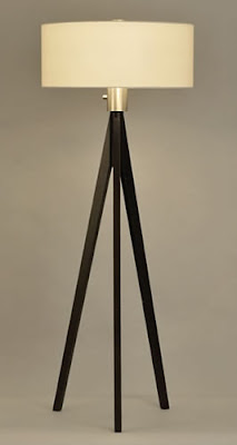 Nova 10858 3 Light Tripod Floor Lamp