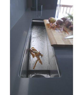 Kohler K-6448-NA Crevasse Prep Sink With Cynchronus Rinsing Technology