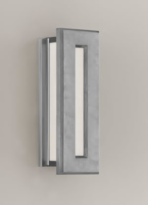 Murray Feiss ODWB4320BRAL Chameleon 2 Light Brushed Aluminum Outdoor Wall Bracket