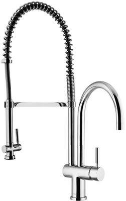 Vigo VG02006CH Single Handle Pull-Down Spray Kitchen Faucet Chrome