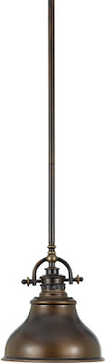Quoizel ER1508PN 1 Light Emery Mini Pendant Palladian Bronze