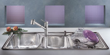 ... Supplies: Franke Artisan Kitchen Sinks Offer Built-In Drainboards