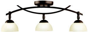 Kichler 42163OZ Bellamy Fixed Rail 3 Light Incandescent Olde Bronze