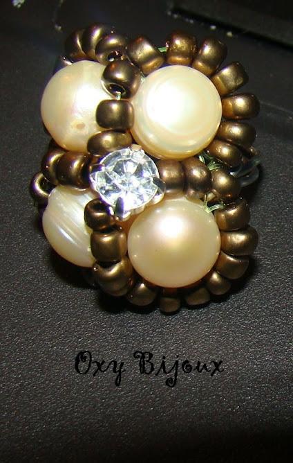 Inel perle de cultura - pret 20 ron-VANDUT