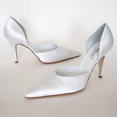 Even Cinderella needed a new pair of bridal shoes for her wedding day