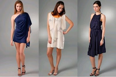 Grecian Dresses and Clothing Fashion Trend