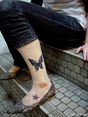 Female Tattoos For The Foot. Tattoo Designs Ideas For Girls
