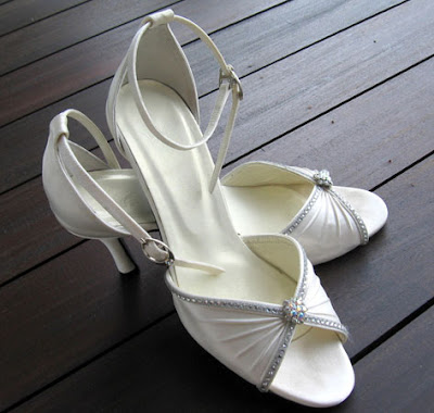 Elegant Wedding Shoes, Wedding Shoes, Ivory Wedding Shoes, Shoe Womens