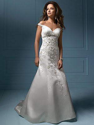 Women wedding dress