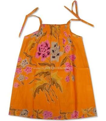 Kids Batik Dresses