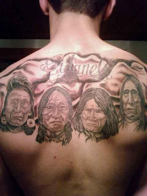Gallery Of Native American Tattoos