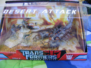 Transformers Movie Screen Battles Dessert Attack Decepticon Scorponok