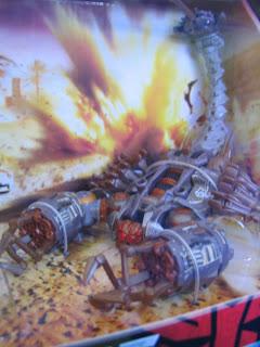 Transformers Movie Screen Battles Dessert Attack Decepticon Scorponok