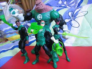 DC Universe Collect and Connect Kilowog Green Lantern Corp Hal Jordan Guy Gardner Katma Tui Classics