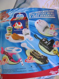 Speed Racer KFC Bucket Toys Keychain Mach 5 Racer X