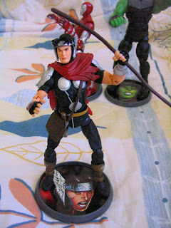 Marvel Legends Young Avengers Patriot Hulkling Iron Lad Asgardian Wiccan Captain America Hulk Iron Man Thor