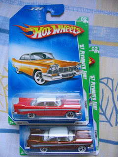 Hot Wheels T-Hunt Super Treasure Hunt 57 Plymouth Fury