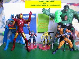 Marvel DC Transformers Ben 10 Tennyson Universe Star Wars Iron Man Avengers Captain America Thor Hulk Autobot Decepticon Invaders Batman JLU Justice League Green Lantern Flash Hawkgirl Wonder Woman Superman