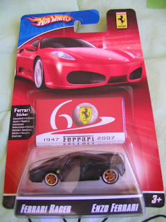 Hot Wheels Black Enzo Ferrari Anniversary Car
