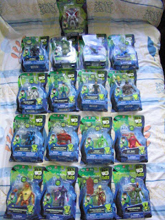Bandai Ben 10 Tennyson Alien Force Ten Tennyson Swapfire Chromastone Ben Tennyson Echo Echo Humungousaur Jet Ray Kevin Levin DNAlien SpiderMonkey Alan as Heatblast Goop Brain Storm Big Chill Alien X Highbreed Gorvan Upchuck