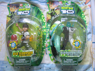 Ben 10 Ten Tennyson Diamondhead DNA Heroes