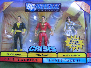 DC Universe Shazam Black Adam Mary Batson Billy Teth Adam Infinite Heroes JLU Justice League Captain Marvel