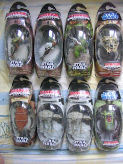 Star Wars Titanium series Original Trilogy Classic AT-AT Speeder Dewback Sandtrooper Jawa Sandcrawler KP 34 Luke Skywalker Princess Leia Scout Sandspeeder