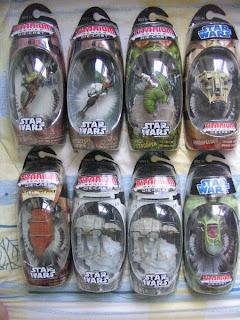 Star Wars Titanium series Original Trilogy Classic AT-AT Speeder Dewback Sandtrooper Jawa Sandcrawler KP 34 Luke Skywalker Princess Leia Scout Sandspeeder