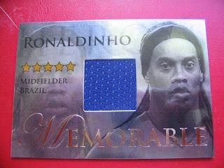 Cards Futera Football Soccer Ronaldinho Brazil World Cup Paris St Germain
