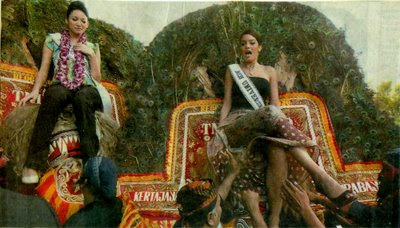 Miss Universe and Reog